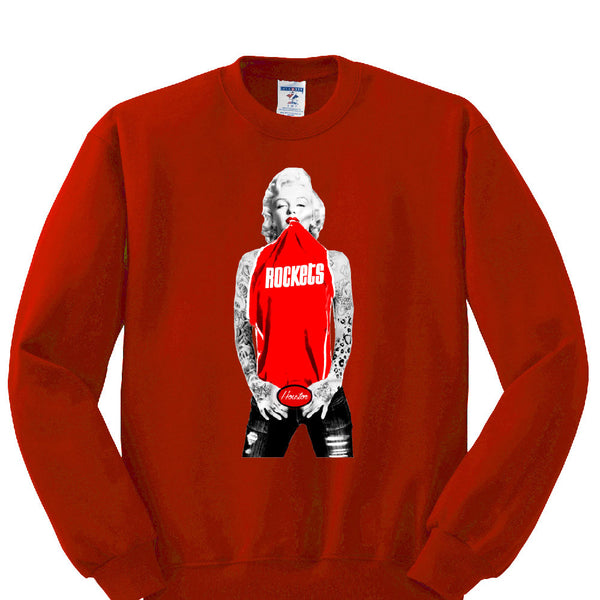 Marilyn Monroe Rockets Sweatshirt Sports Clothing