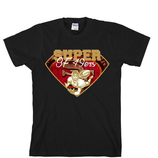 Super 49ers Unisex T-shirt Sports Clothing
