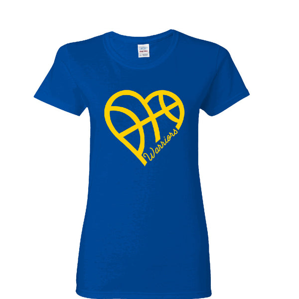 Heart Warriors Ladies T-shirt Sports Clothing