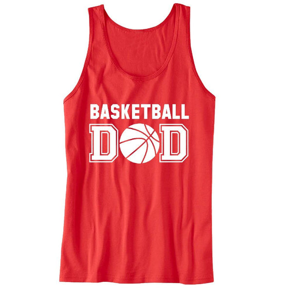 Basketball DAD Unisex Tank Top - For the best Dad Ever
