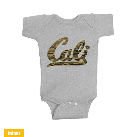 Cali Green Camo - Infant Lap Shoulder Bodysuit