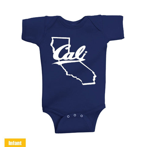 California Map - Infant Lap Shoulder Bodysuit