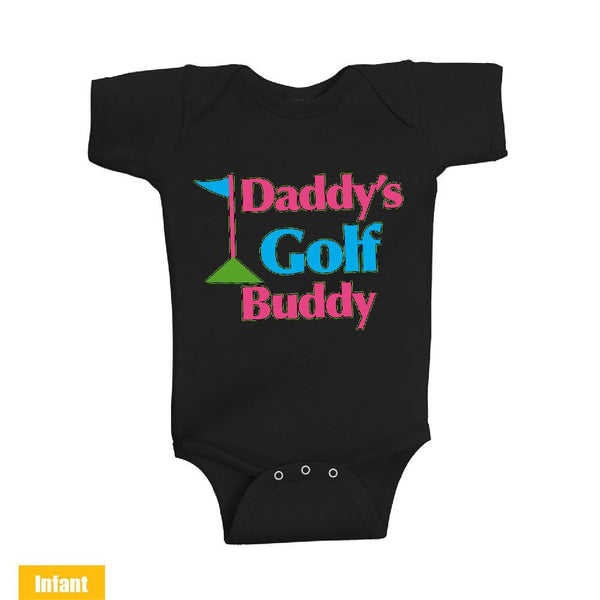 Daddy's Golf Buddy - Infant Lap Shoulder Bodysuit