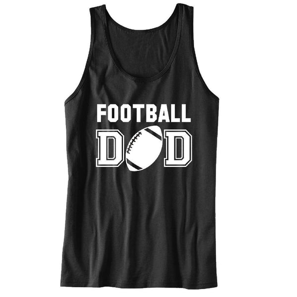 Football DAD Unisex Tank Top - For the best Dad Ever