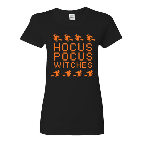 Hocus Pocus Witches Ladies Adult T-shirt - Great Gift For The halloween