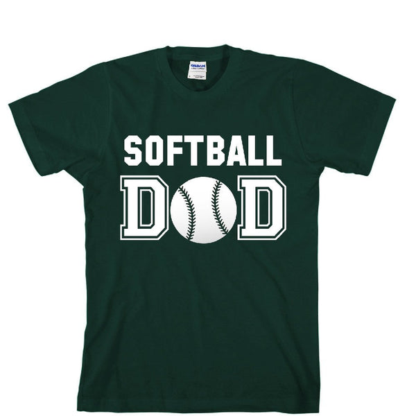 Softball DAD Unisex Adult T-shirt - Great Gift For Awesome DAD
