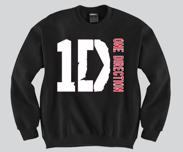 1D Unisex Crewneck Funny and Music