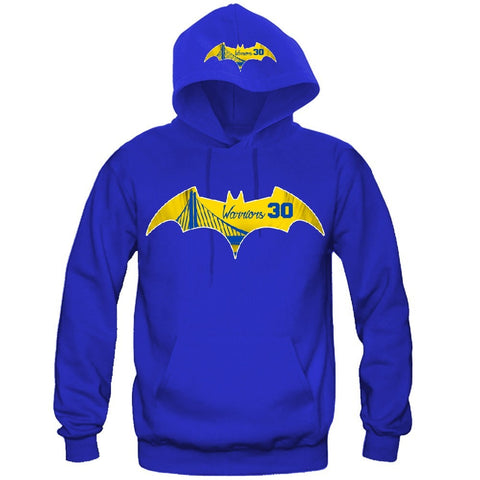 Bat Golden State Warriors Hoodie