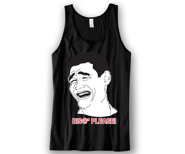 Bitch Please Unisex Tank Top Funny and Music