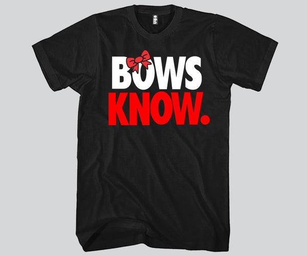 Bows Know Unisex T-shirt Funny and Music