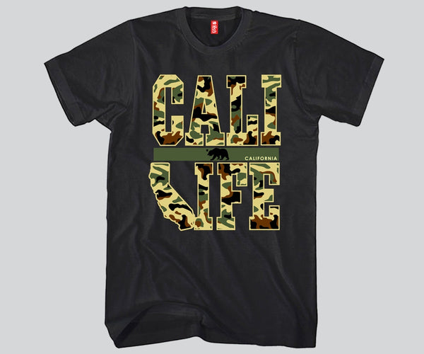 Cali Life Green Camouflage