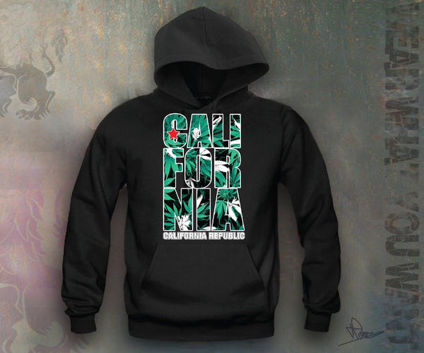 California Republic Weed Hooded Sweatshirt