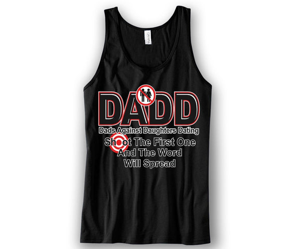 D.A.D.D Colors Unisex Tank Top