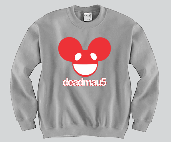 Deadmau5 Unisex Crewneck Funny and Music