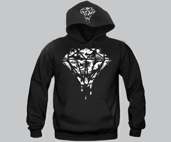 Diamond Camo Hoodie Funny and Music
