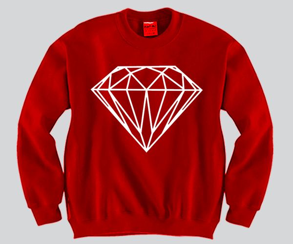 Diamond Crewneck Funny and Music