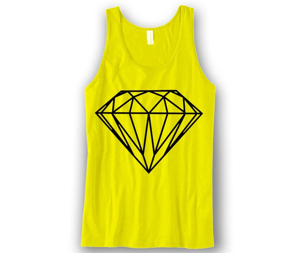 Diamond Unisex Tank Top Funny and Music