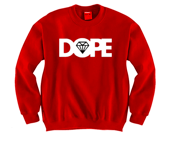 DOPE Unisex Crewneck Funny and Music