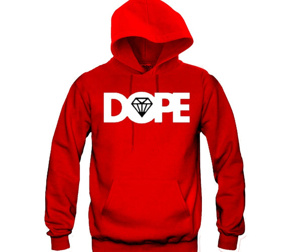Dope Unisex Hooded Sweatshirt Funny and Music