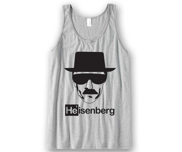 Heisenberg Unisex Tank Top Funny and Music