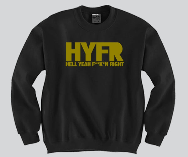 HYFR Unisex Crewneck Funny and Music