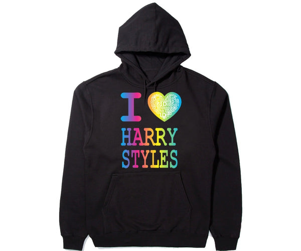 I Love Harry Styles Unisex Hooded Sweatshirt Funny and Music