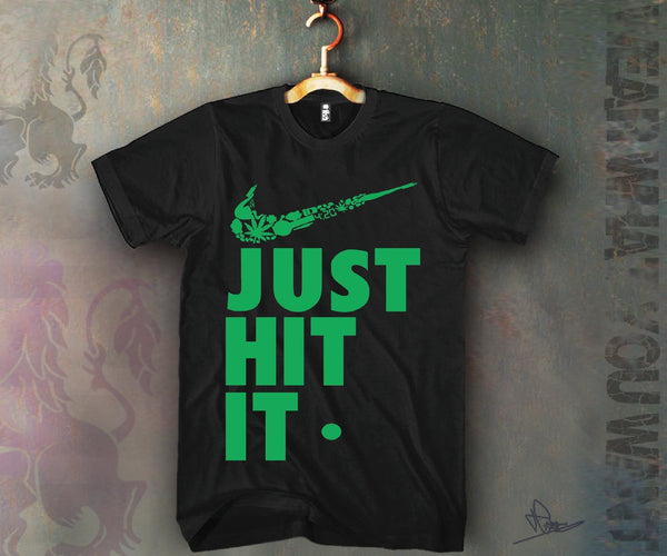 Just Hit It Unisex T-shirt Funny and Music