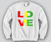 Love Rasta Crewneck Funny and Music
