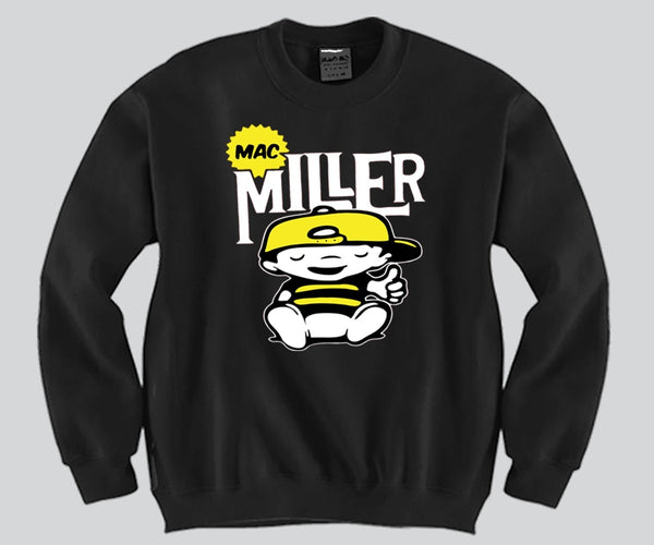 Mac Miller 2 Colors Unisex Crewneck Funny and Music