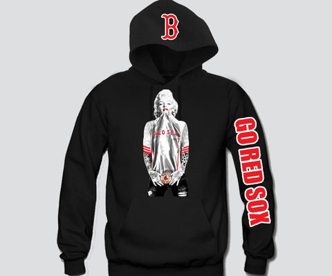 Marilyn Monroe Boston Red Sox Hoodie