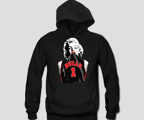Marilyn Monroe Chicago Bulls (1) Hoodie Sports Clothing