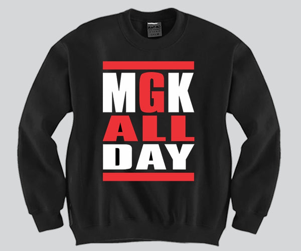 MGK All Day Unisex Crewneck Funny and Music
