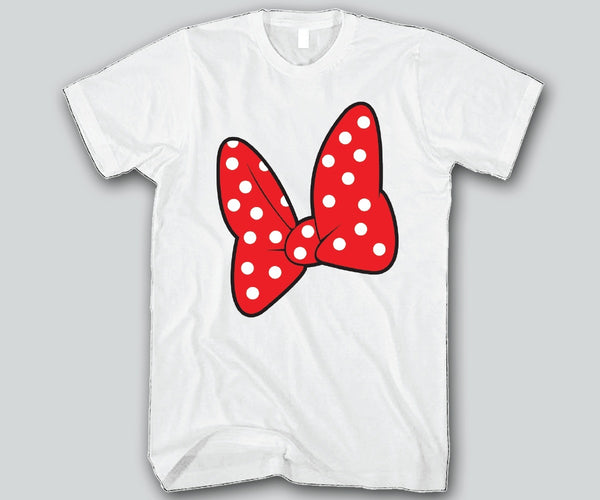 Minnie Bow Unisex T-shirts Funny and Music