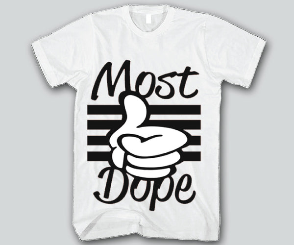 Most Dope Hands Mickey Mouse Unisex T-shirts Funny and Music