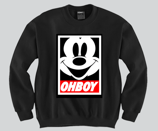 OHBOY Crewneck Funny and Music