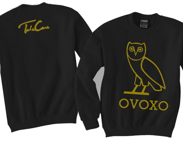 OVOXO Unisex Crewneck Funny and Music