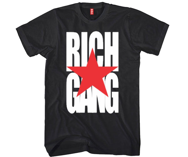 Rich Gang Unisex T-shirt Funny and Music