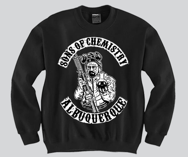 Sons of chemistry albuquerque Crewneck Funny and Music