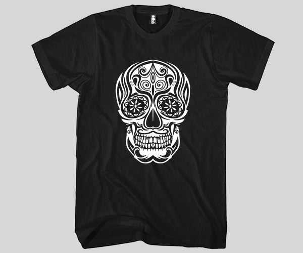 Sugar Skull Unisex T-shirt Funny and Music
