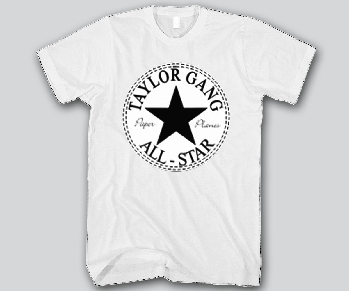 Black t shirt gang - Taylor Gang All Star Unisex T Shirt Funny And Music