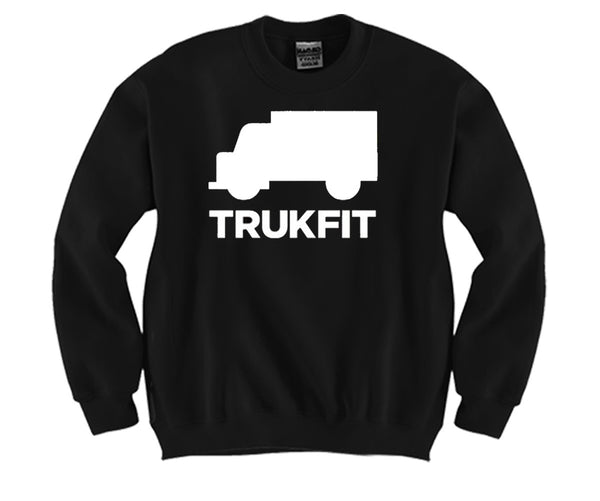 TruckFit Unisex Crewneck Funny and Music