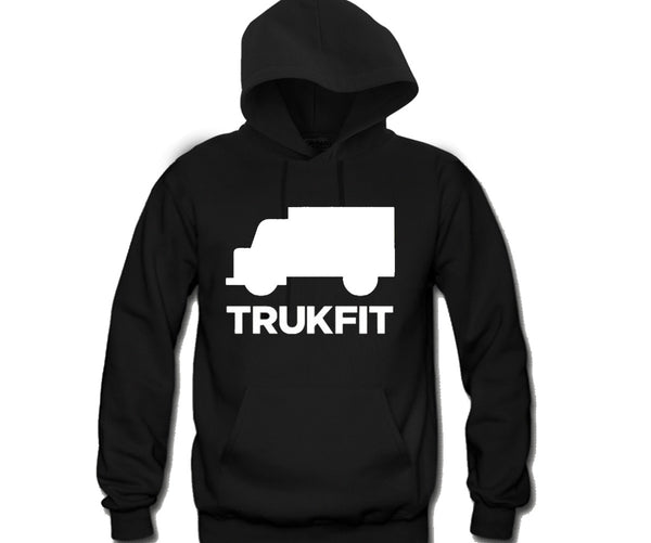 TruckFit Unisex Hooded Sweatshirt Funny and Music