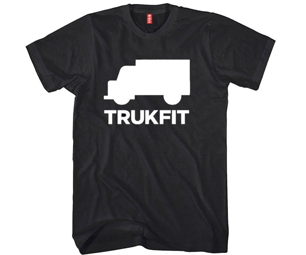TruckFit Unisex T-shirt Funny and Music