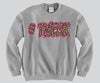 #Twerk Cheetah Crewneck Funny and Music