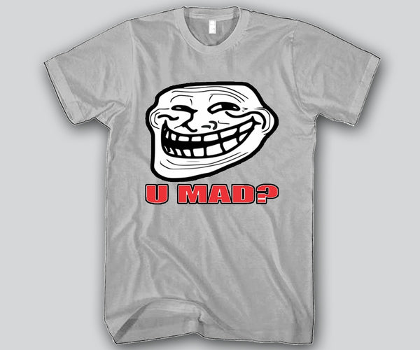 U Mad Face Unisex T-shirt Funny and Music