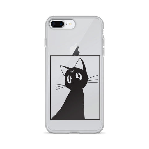 Luna Black-iPhone Case