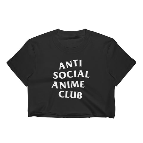 Anti Anime-Women's Crop Top