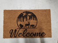 Handpainted Welcome Mats