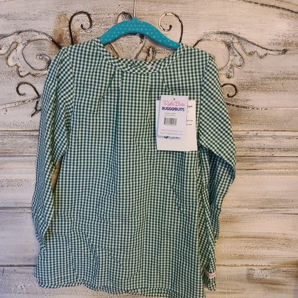 CLEARANCE Rufflebutts Size 4T Green Gingham Dress