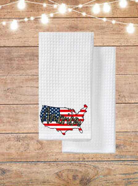 America Kitchen Towel